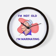 MARINATING Wall Clock