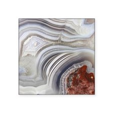 "agate Square Sticker 3"" x 3"""