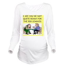 gin Long Sleeve Maternity T-Shirt