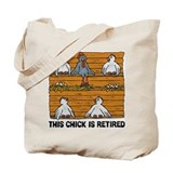 Funny retirement Totes & Shopping Bags