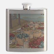 Maine Feast Flask