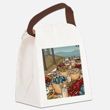 Maine Feast Canvas Lunch Bag