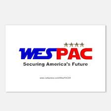 """""""WesPAC"""" Postcards (Package of 8)"""