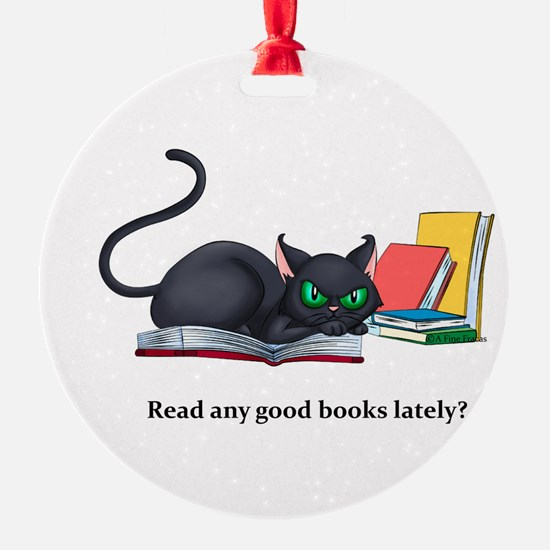 Read any good books lately? Ornament