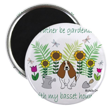 bassethound Magnet