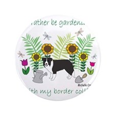 "border collie 3.5"" Button"
