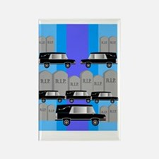 Funeral director 4 Rectangle Magnet