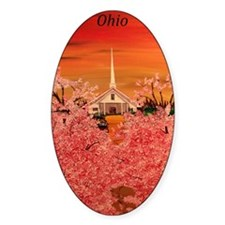 Sunday Morning in Ohio Decal
