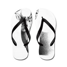Whitetail Flip Flops