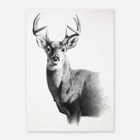Whitetail 5'x7'Area Rug