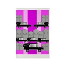 funeral director 3 Rectangle Magnet