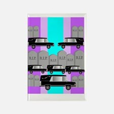 funeral director 2 Rectangle Magnet