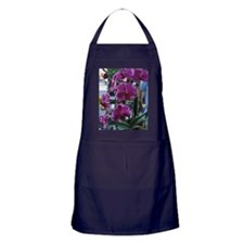 Purple Moth Orchid Apron (dark)