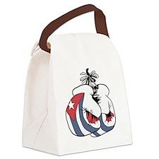 Boxing Cuba Canvas Lunch Bag