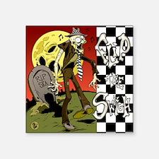 """Flip the Switch Album Cover Square Sticker 3"""" x 3"""""""
