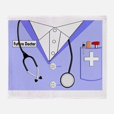 Future Doctor Throw Blanket