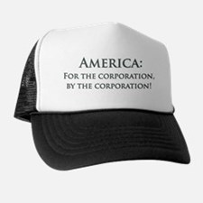 America For The Corporation Trucker Hat