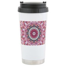 Messed up Sunset kaleidoscope Travel Mug