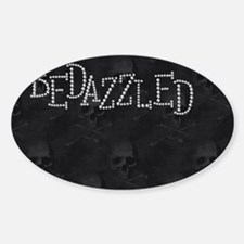 bd_2_coin_purse_front Sticker (Oval)
