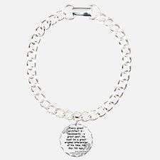 Wright Poet Quote Bracelet