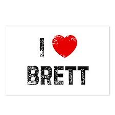 I * Brett Postcards (Package of 8)