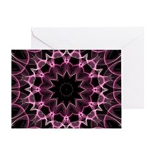 Pink Dream kaleidoscope Greeting Card