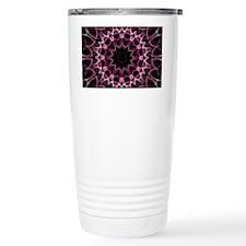 Pink Dream kaleidoscope Travel Coffee Mug