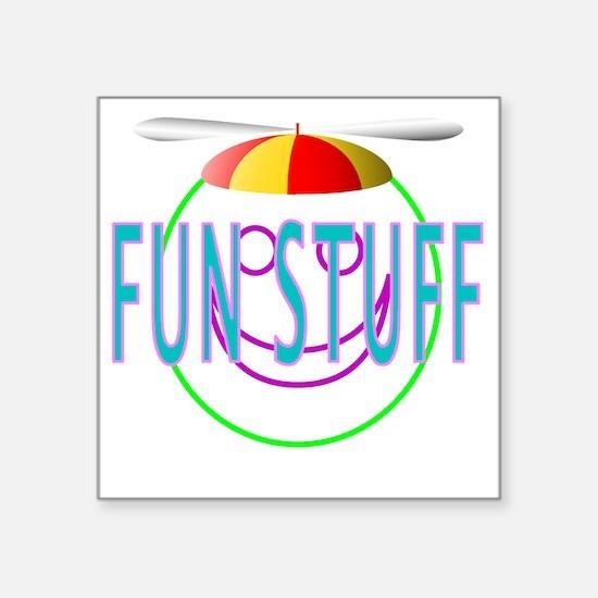 "Fun stuff design Square Sticker 3"" x 3"""