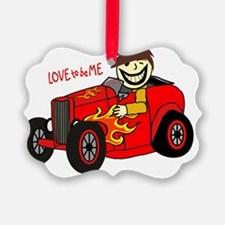 HOT ROD - LOVE TO BE ME Ornament