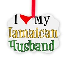 Love My Jamaican Husband Ornament