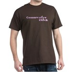 Conservative Chick Brown T-Shirt