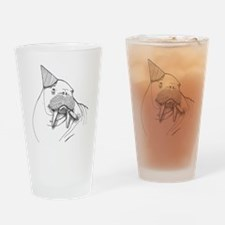 Party Walrus Drinking Glass