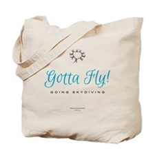 Going Skydiving! Tote Bag