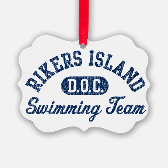 Rikers Island Swimming Team Ornament