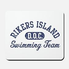 Rikers Island Swimming Team Mousepad