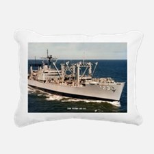 uss nitro large framed p Rectangular Canvas Pillow