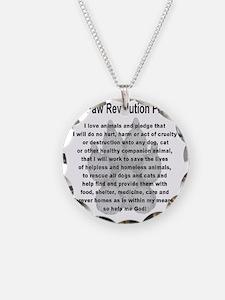 The Paw Revolution Pledge Necklace