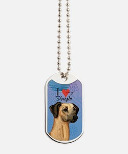 sloughi-case Dog Tags