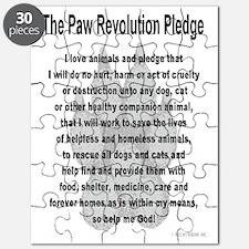 The Paw Revolution Pledge Puzzle