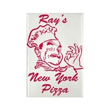 Rays New York Pizza Rectangle Magnet