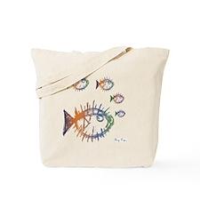 School of Pufferfish Puffer Fish Tote Bag