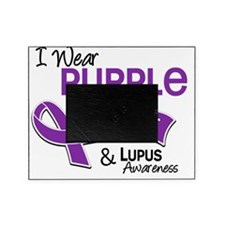 D I Wear Purple For My Aunt 42 Lupus Picture Frame