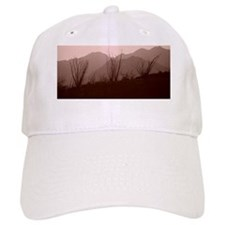 Mountains in the distance. Baseball Cap
