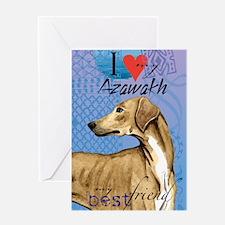 azawakh-journal Greeting Card