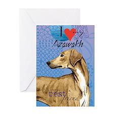 azawakh-kindle Greeting Card