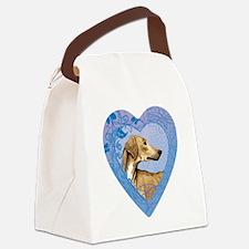 azawakh-heart Canvas Lunch Bag