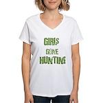 Women Hunting & Fishing produ Women's V-Neck T-Shi