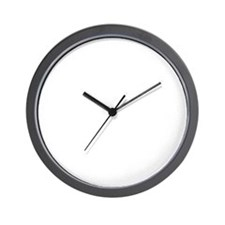 White Anubis Wall Clock