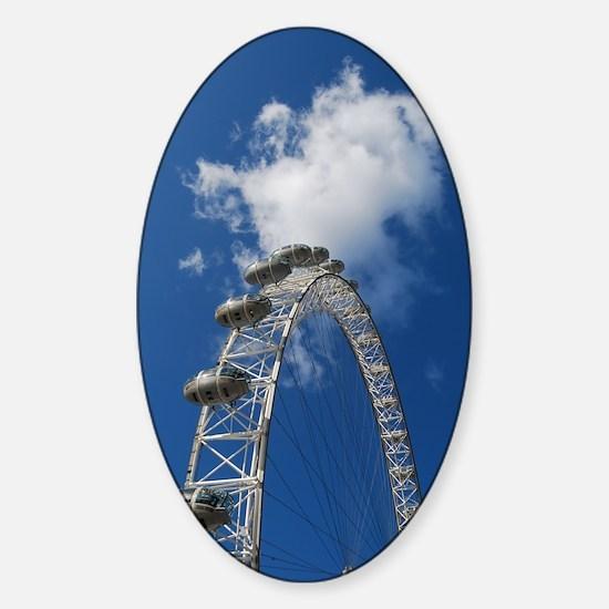 London Eye TKD Sticker (Oval)