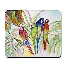 Parrots for duvet Mousepad